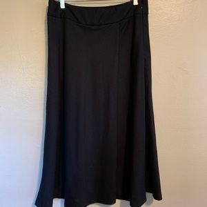 Talbots | Italian Wool Flannel Skirt | 8